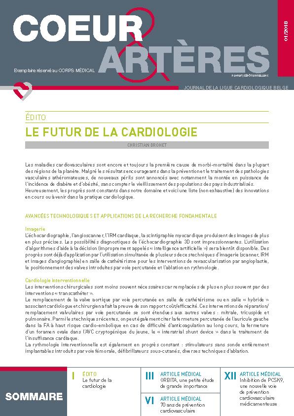 coeur-arteres 2018 Médecins