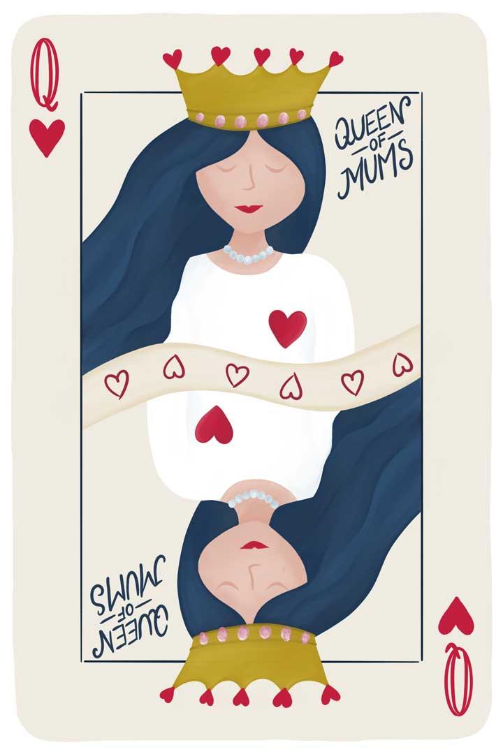 Cœur de femme - Queens of Mums